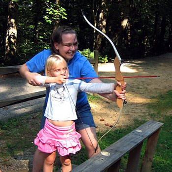 Archery teaching Camp Counselor