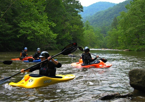 Outdoor Adventure Kayaking Instructor