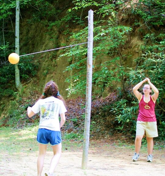 Outdoor Tetherball Game