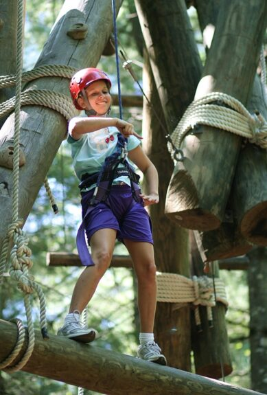 Ropes Course Adventure Youth