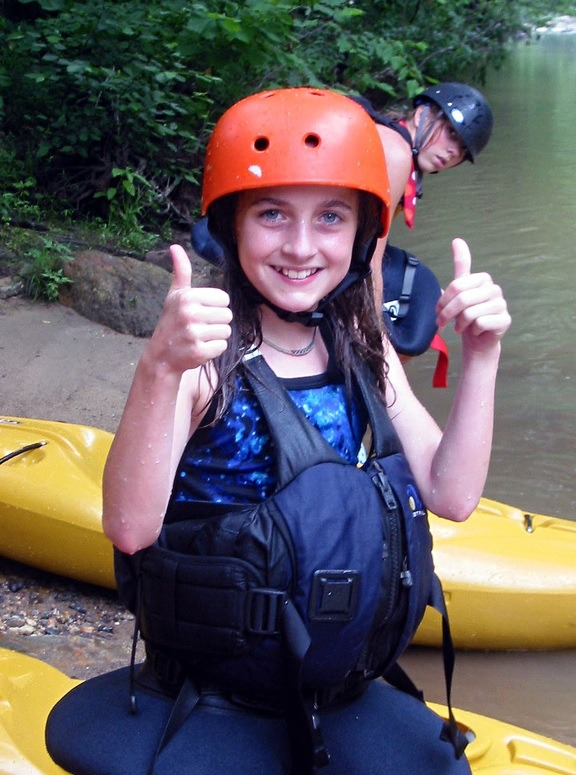 Kids Adventures Camp Kayaking
