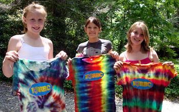 Tie Dye T-shirt Girls