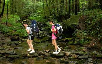 Backpacking Camps for Girls
