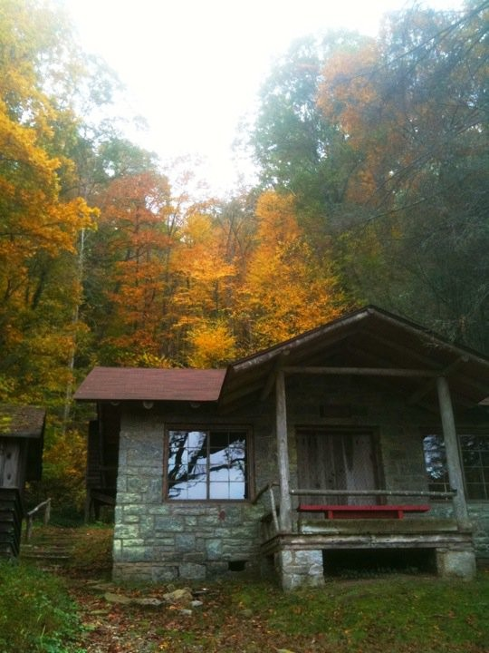 Junior Lodge in the Fall