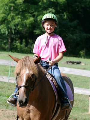 Horse Camp Girl Riding