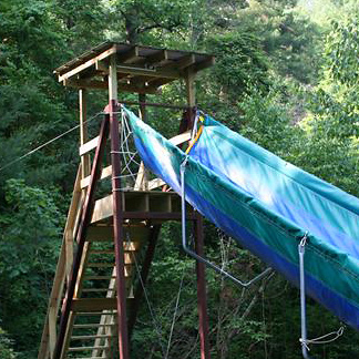 Camp Water Slide Tower