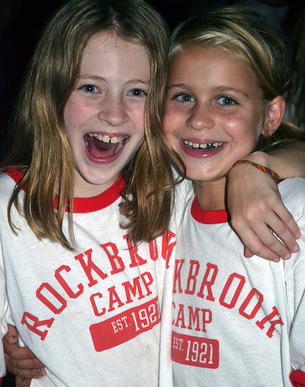 Camp Friends Grateful for each other