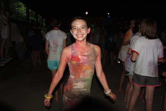 Color War Camp casualty