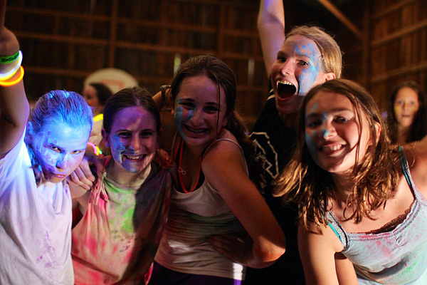 Camp Color Dance Girls
