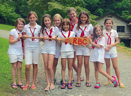 Camp Cabin wins spirits paddle