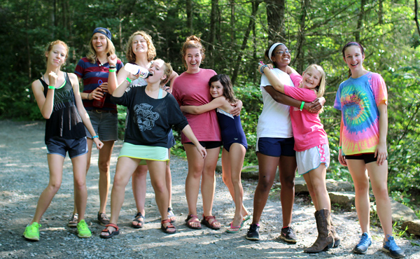 camp builds girls confidence