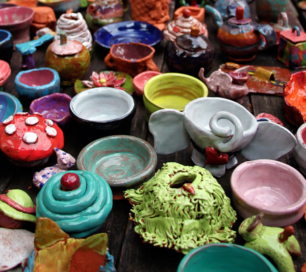 Pottery Camp Works
