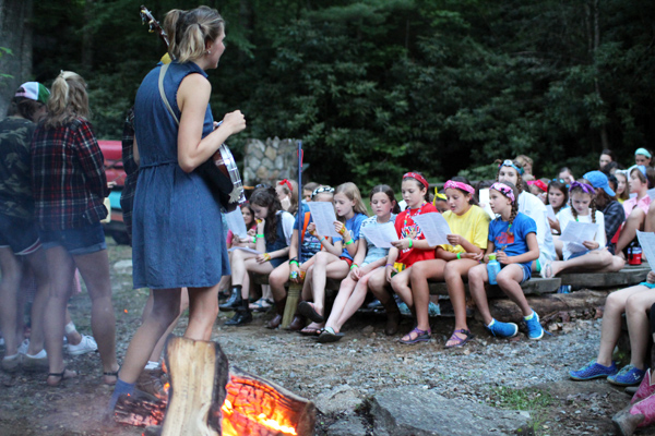 Campfire mountain music songs