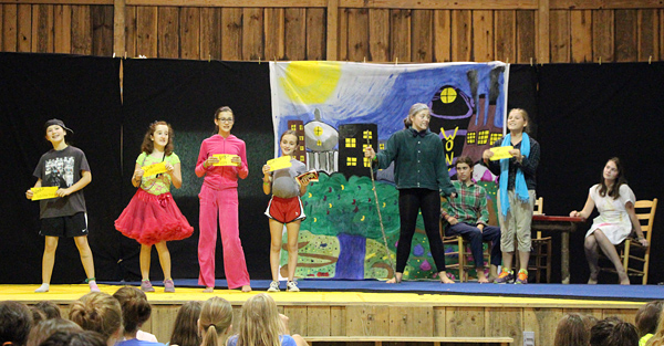 Willy Wonka JR Camp Play