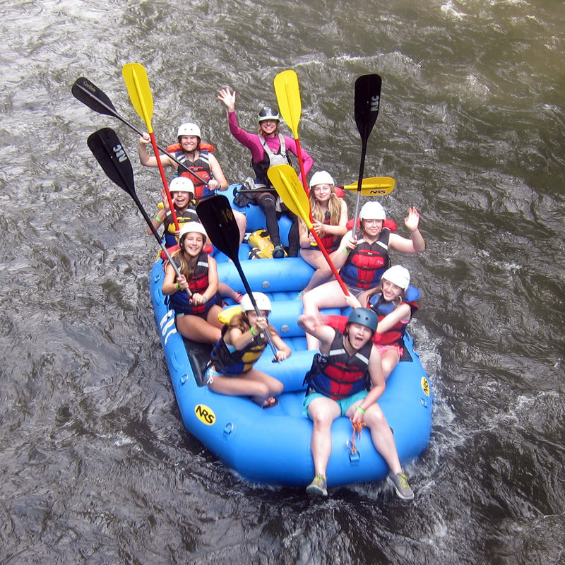Rafting Camp Fun