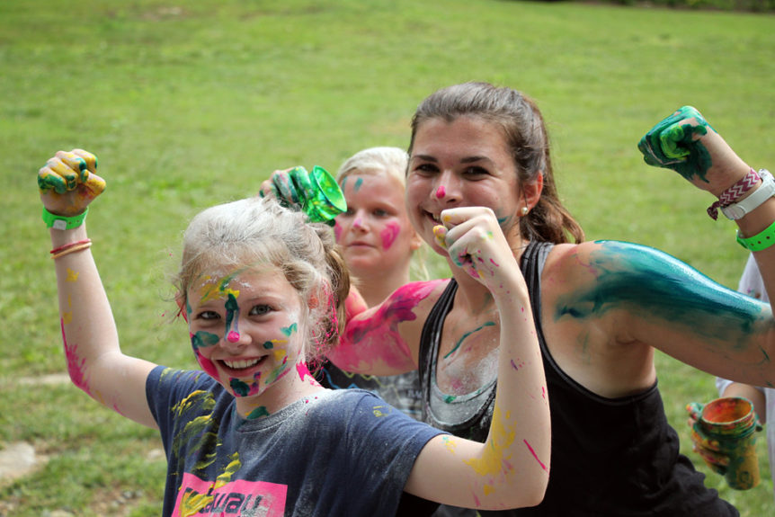 color tag camp girls