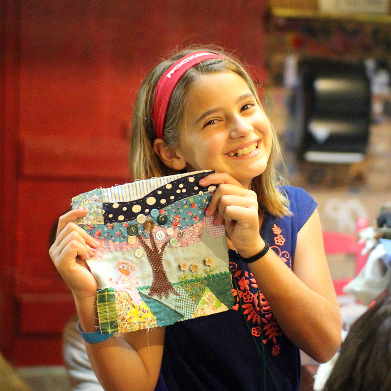 Camp Quilting Project