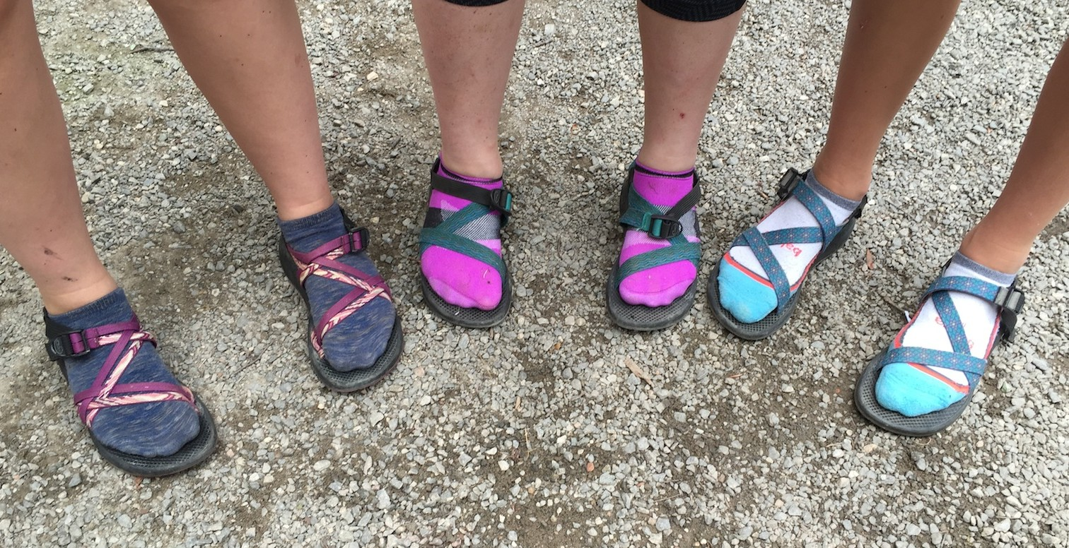Chacos and Socks