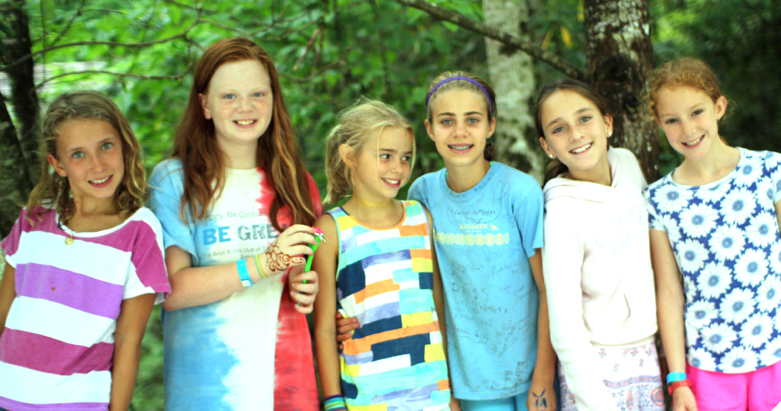 camp girl friends