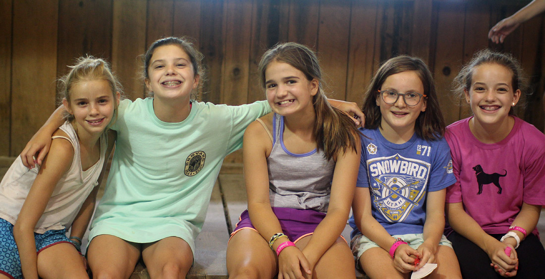 Middle School Girls Camp