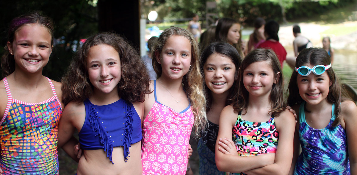 Swim Girl Campers