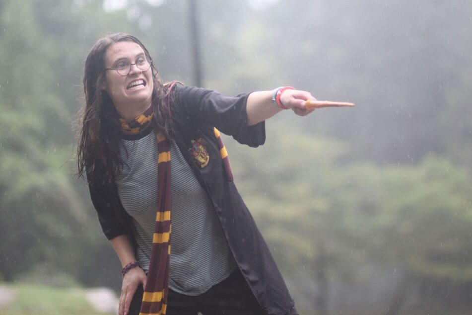 Harry Potter camp counselor