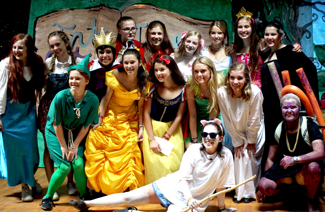 Cast of Fairy Tales Camp Party