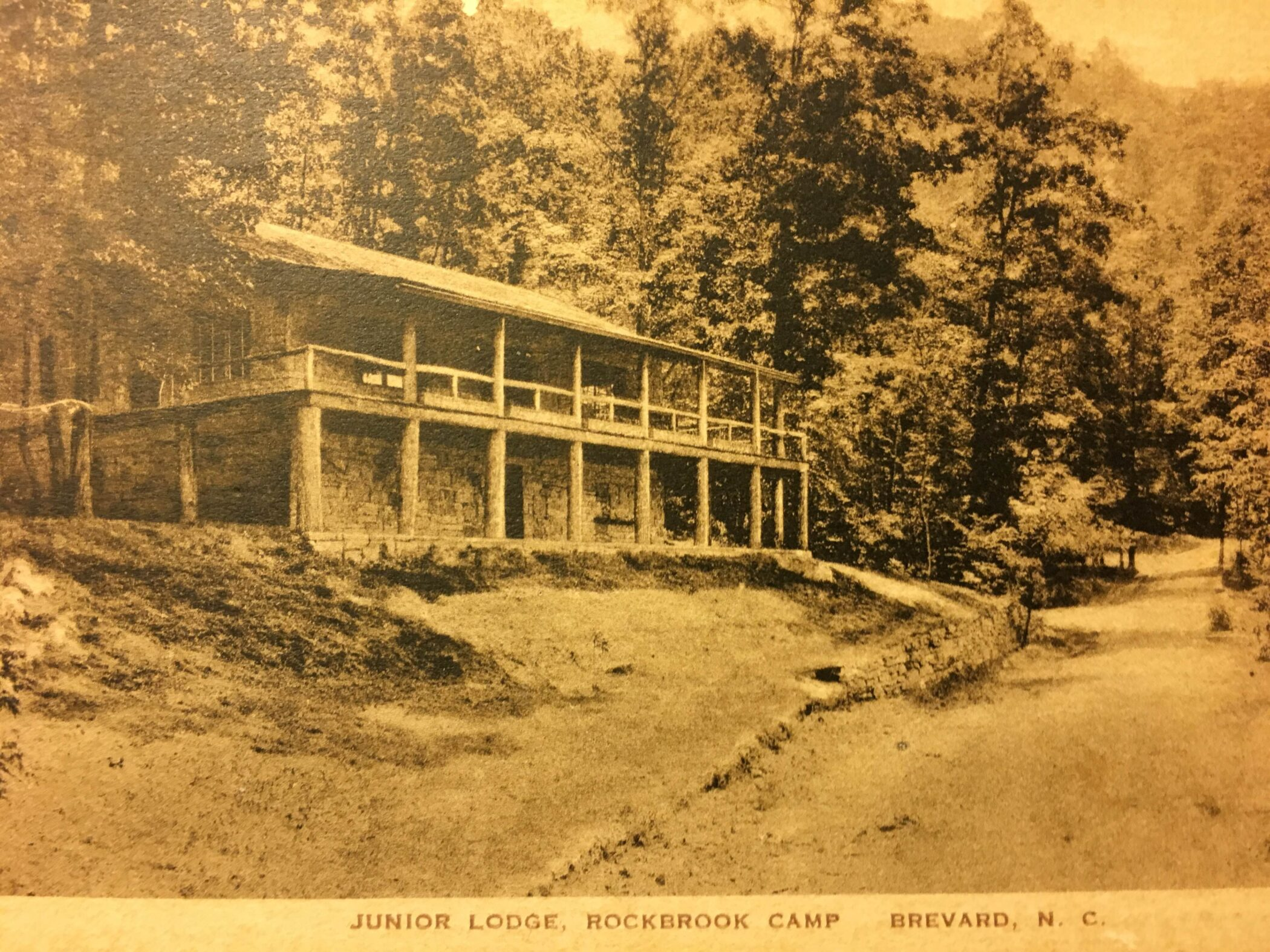 historic summer camp lodge