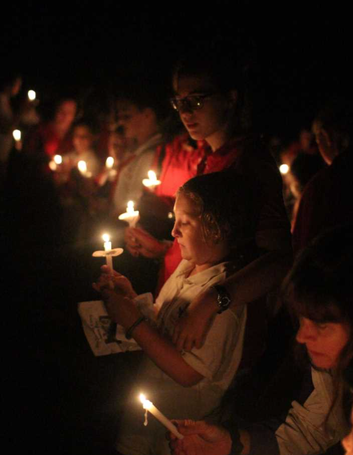 candle ceremony child