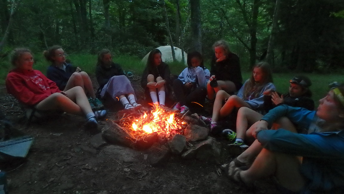 Campfire Hanging Out