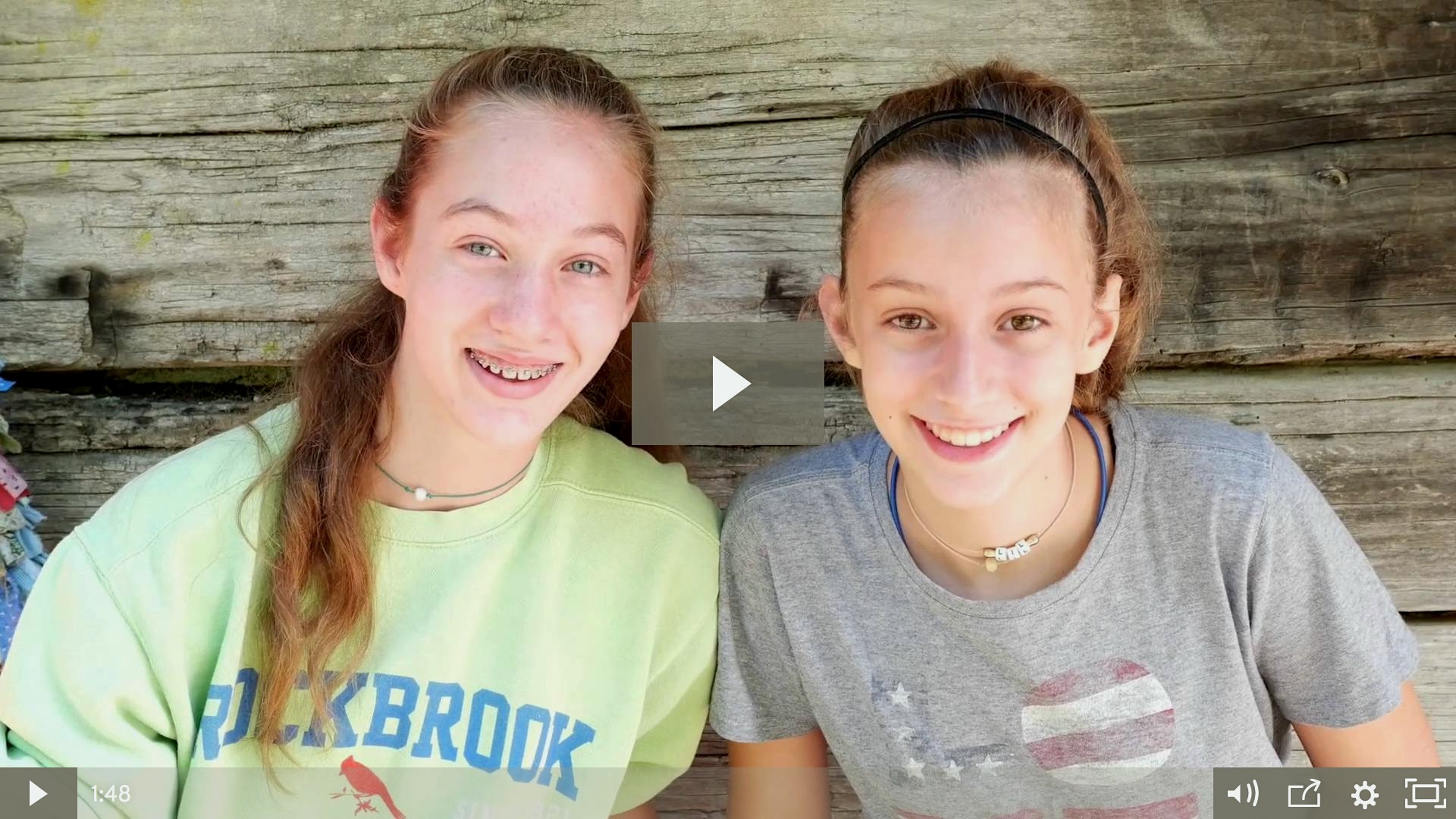 girls camps video