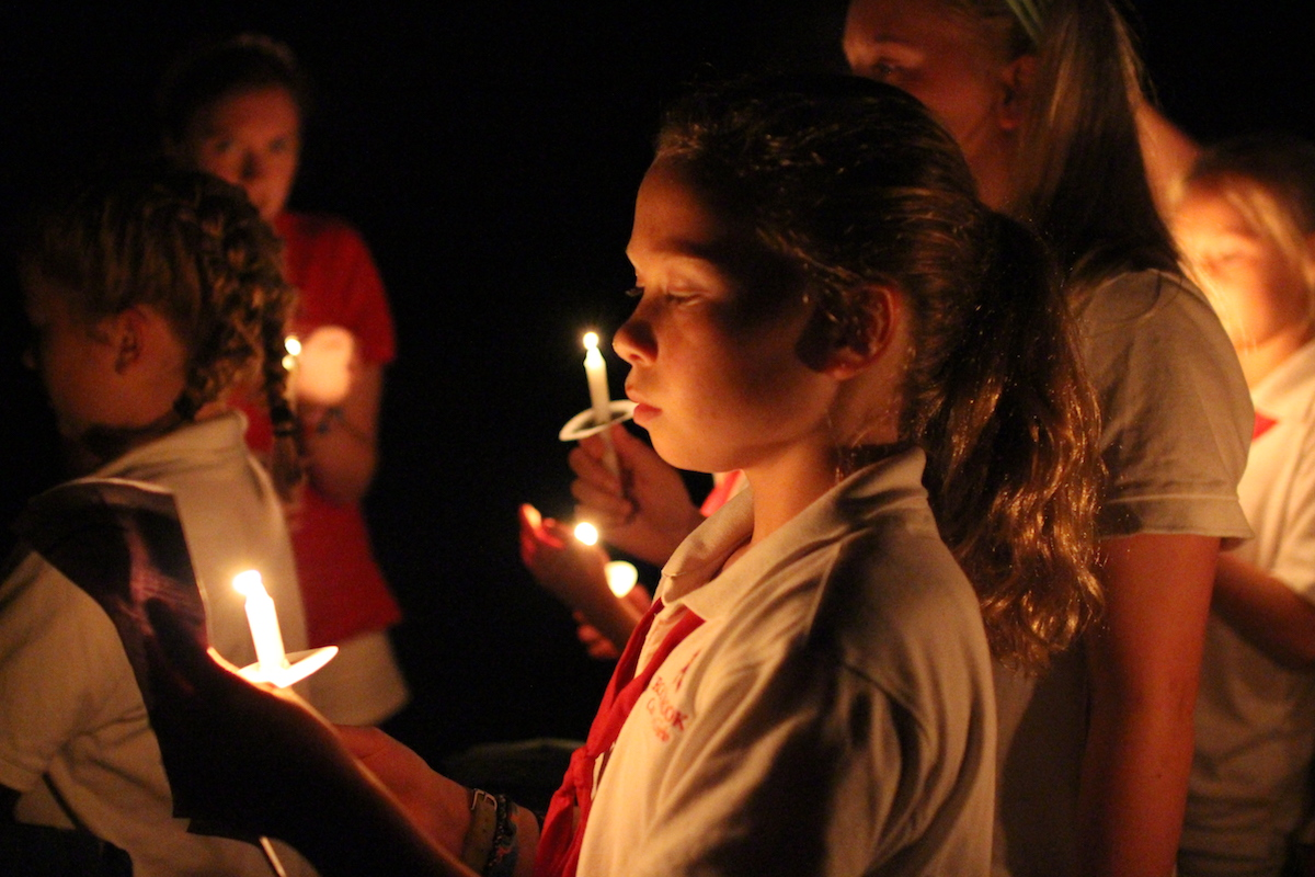 candle ceremony kid