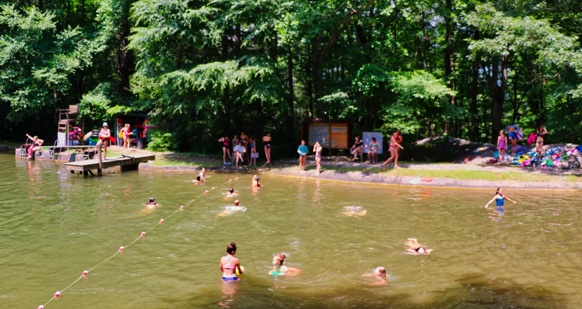 rockbrook camp lake fun