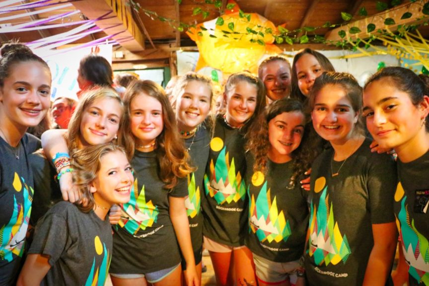 camp final party