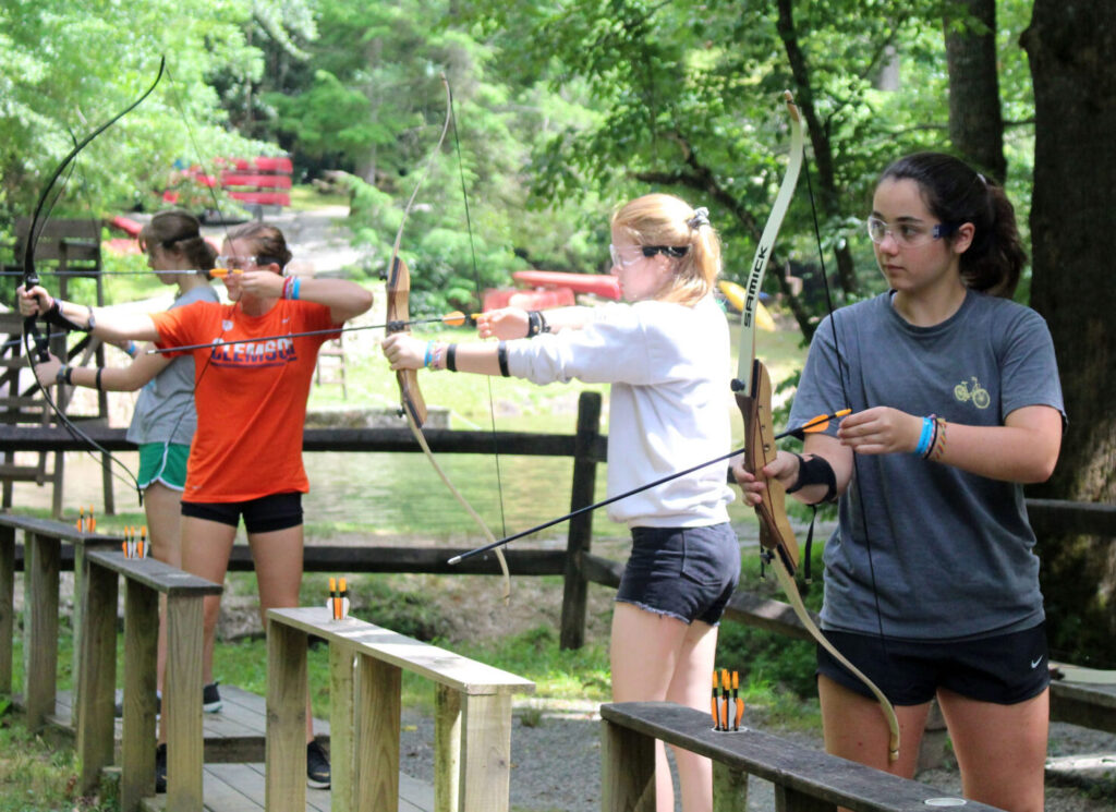 girls archery tournament