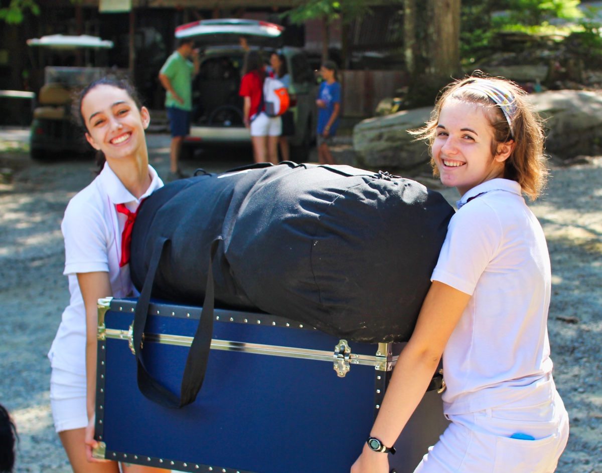 Camp Trunk Moving