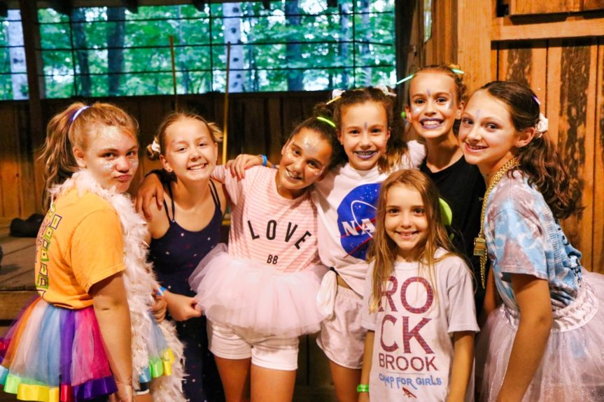 camp girls dancers