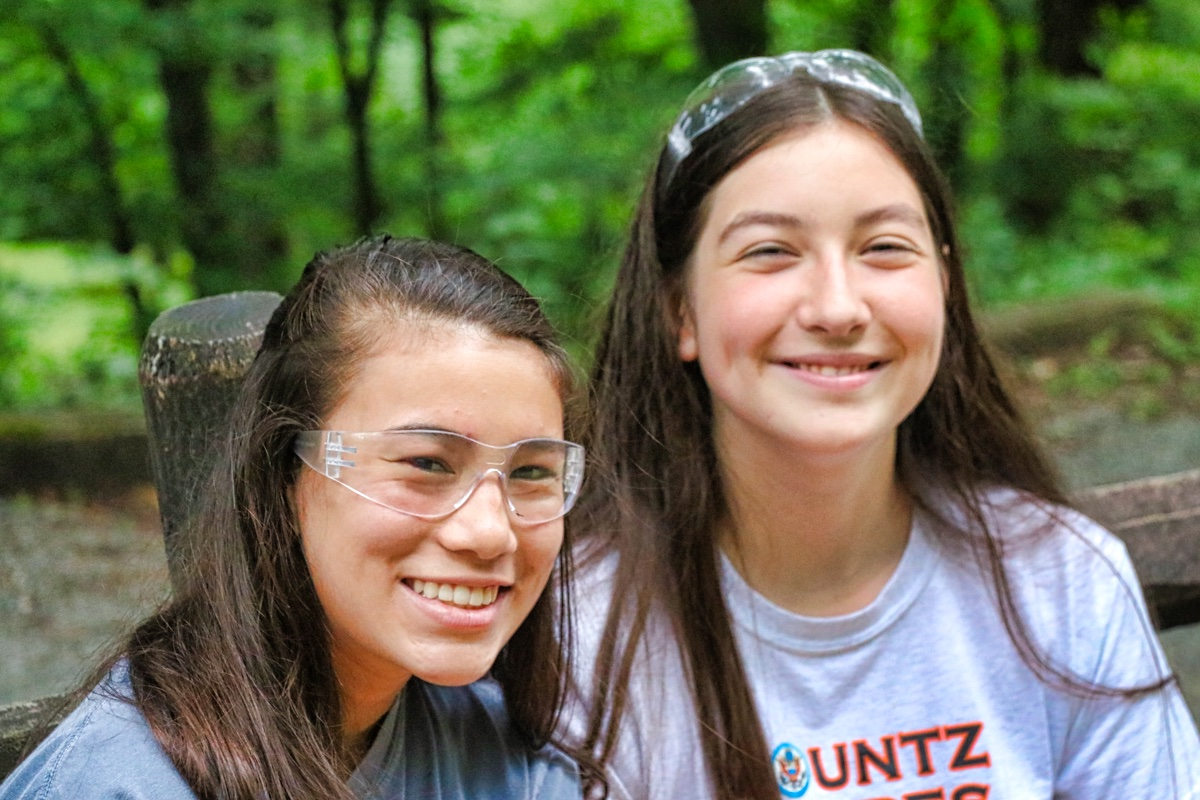 summer camp teen friends