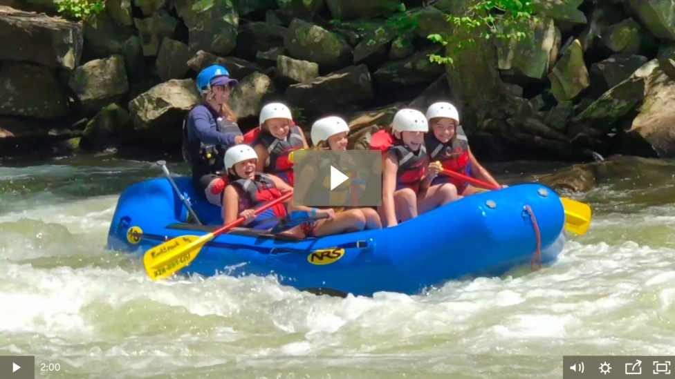 girls camp video frame introduction