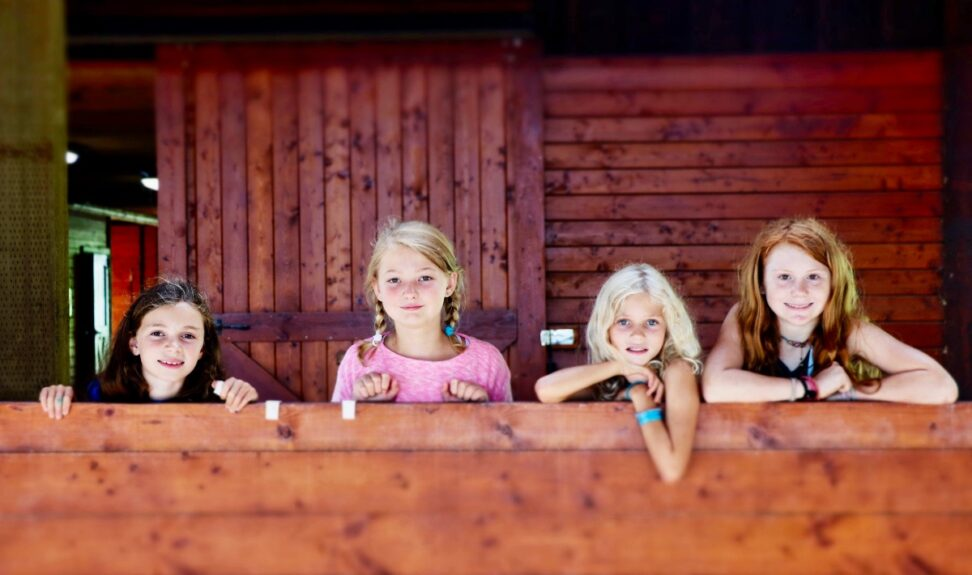 barn camp girls