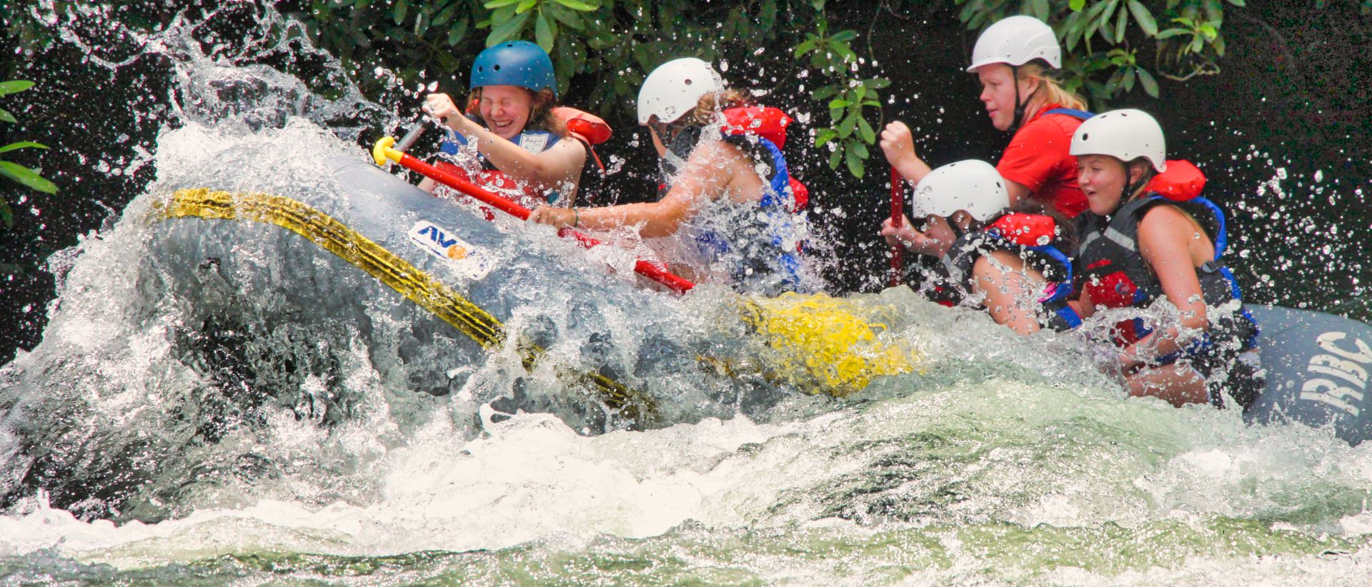outdoor adventure rafting camp