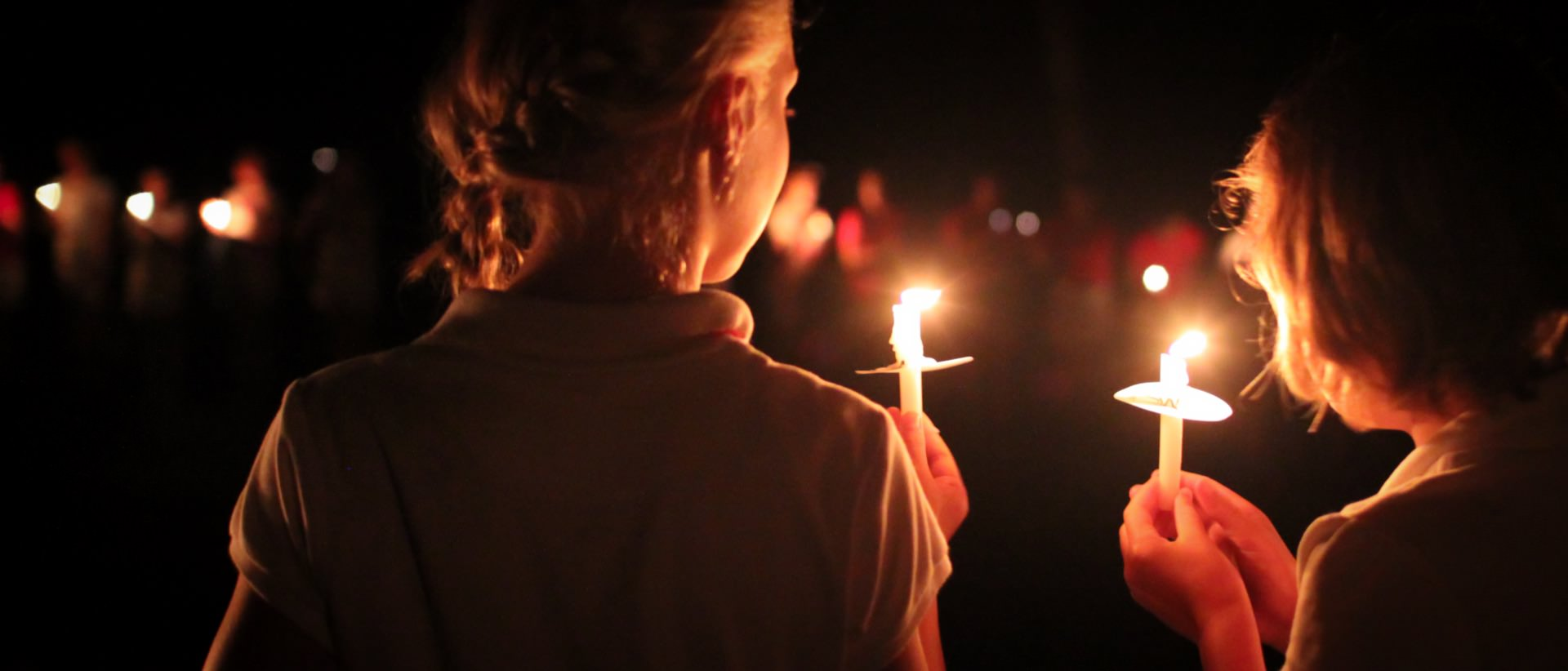 american summer camp candle tradition