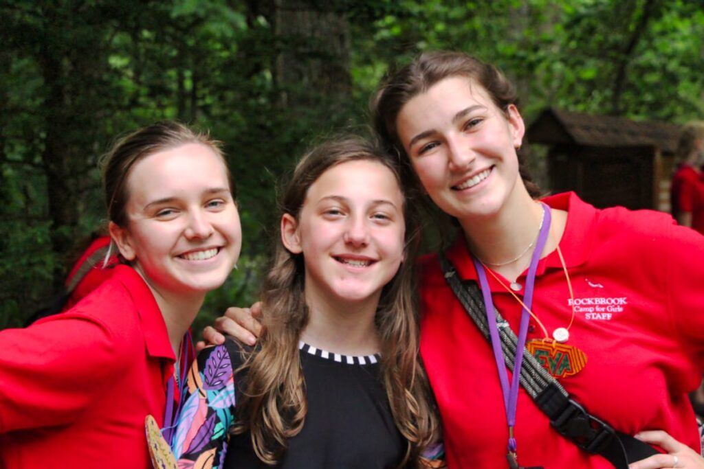 college girl camp pals