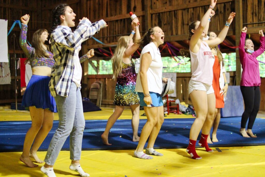 Camp Party performance